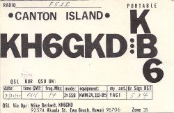 KH6GKD/KB6 Mike Berkwit